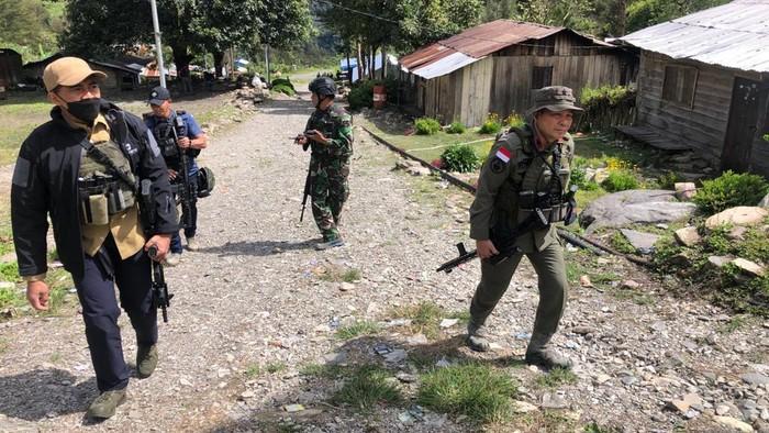 TNI-Polri kuasai beberapa titik di Beoga, Papua (Dok Satgas Nemangkawi)