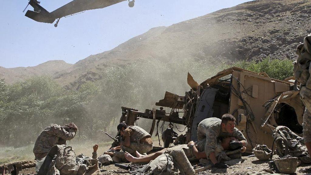 Dukung Afghanistan, Amerika Tingkatkan Serangan Udara Perangi Taliban