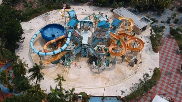Wahana Atlantis Ancol terbengkalai karena pandemi (Dok manajemen Taman Impian Jaya Ancol)