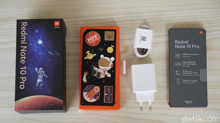 Xiaomi Redmi Note 10 Pro edisi MFF 2021