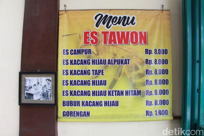 Es Campur Legendaris di Malang; Es Tawon Kidul Dalem sudah berusia 65 tahun.