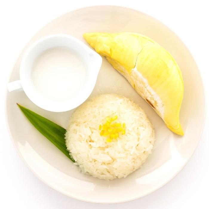 Ketan Durian ala Kreasi Sasa