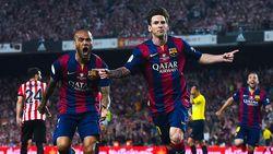 Jelang Final Copa del Rey, Lionel Messi Cukur Berewok