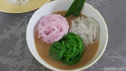 Resep Putu Mayang yang Manis Kenyal dan Klasik