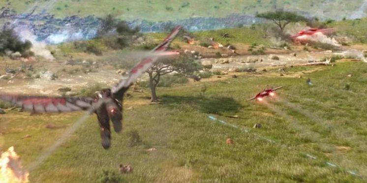 Redwing drone Falcon