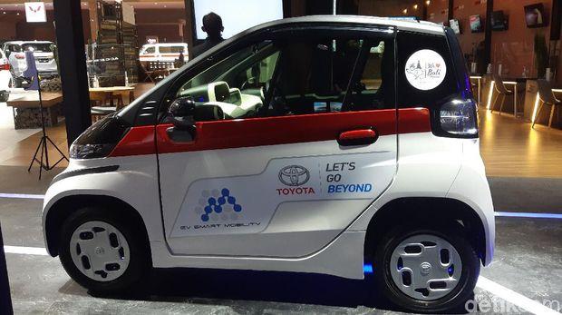 Toyota C+Pod di IIMS 2021
