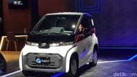 Toyota Pamer Mobil Listrik Mungil di IIMS 2021, Sudah Siap Dijual?