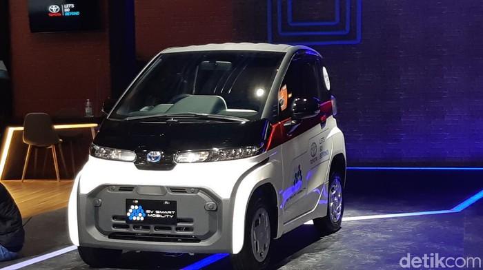 Toyota Pamer Mobil Listrik Mungil Di Iims 2021 Sudah Siap Dijual