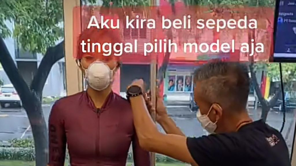 Baru Tahu Beli Sepeda Harus Fitting Dulu? Netizen: Sepeda Sultan Beda