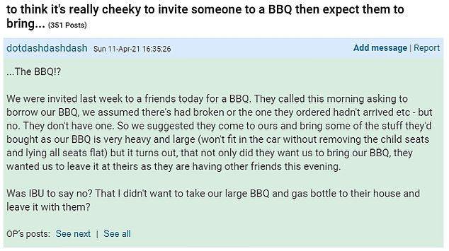 Sedih! Sudah Bawa Panggangan, Wanita Ini Tak Diundang Pesta BBQ