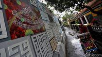 Unik! Gang Sempit di Bandung Ini Disulap Jadi Kampung Kaligrafi