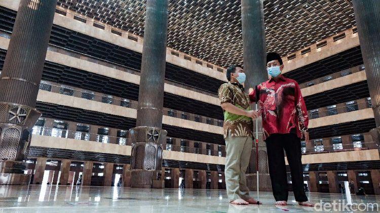 Yuk, Intip Fasilitas Disabilitas di Masjid Istiqlal