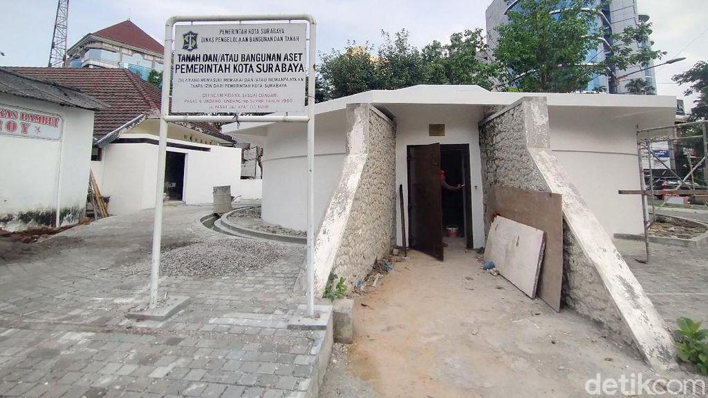 Surabaya Ingin Restorasi Bungker Tegalsari Rampung Sebelum Ulang Tahun