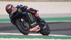 Quartararo Pole Position MotoGP Portugal, Marquez Start Keenam