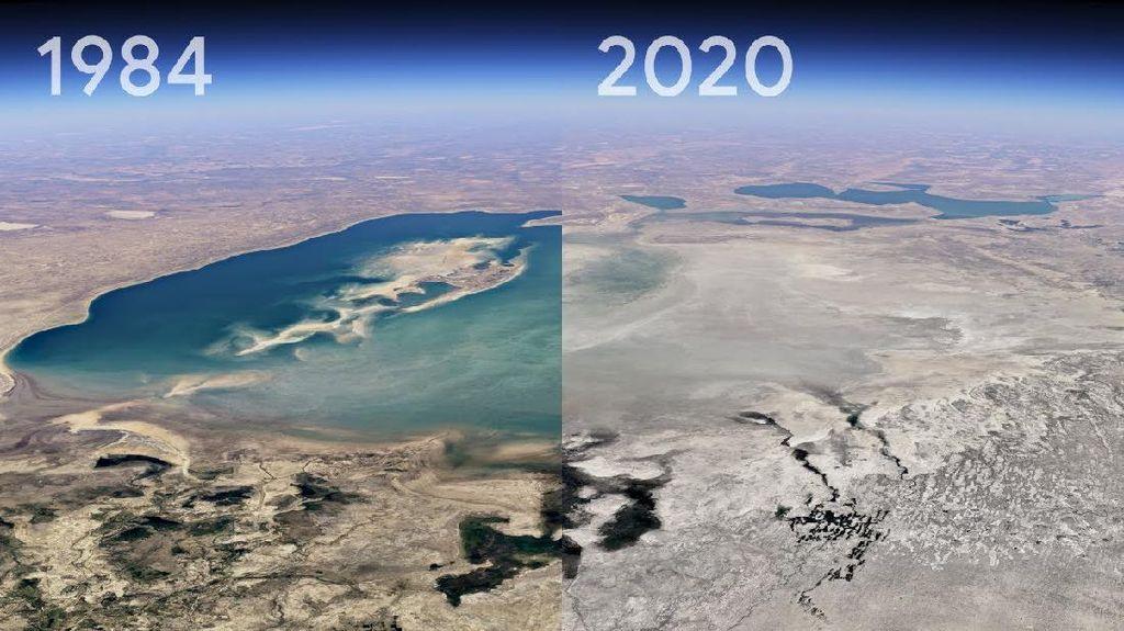 Google Earth Perlihatkan Perubahan Bumi yang Mengerikan