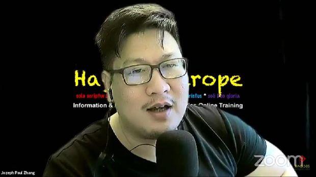 Jozeph Paul Zhang (Screenshot YouTube)