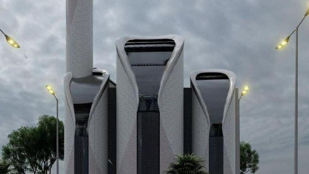9 Masjid Unik Desain Ridwan Kamil, dari Segitiga sampai Mirip PS5