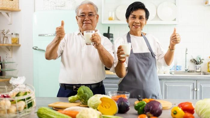 Menu makanan sehat lansia.