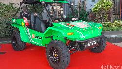 Mobil Pedesaan Buatan Cimahi Komodo Bledhex Berbekal Listrik