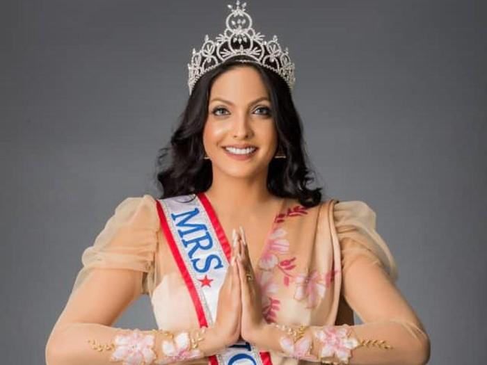 Pemenang Mrs World 2020 Caroline Jurie