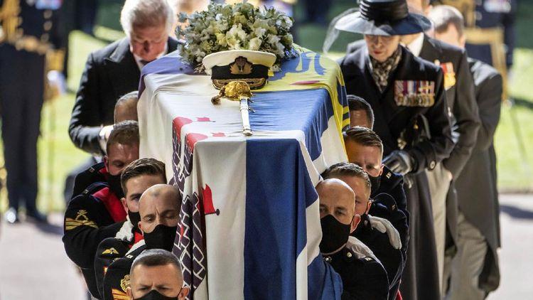 Foto-foto Pemakaman Pangeran Philip