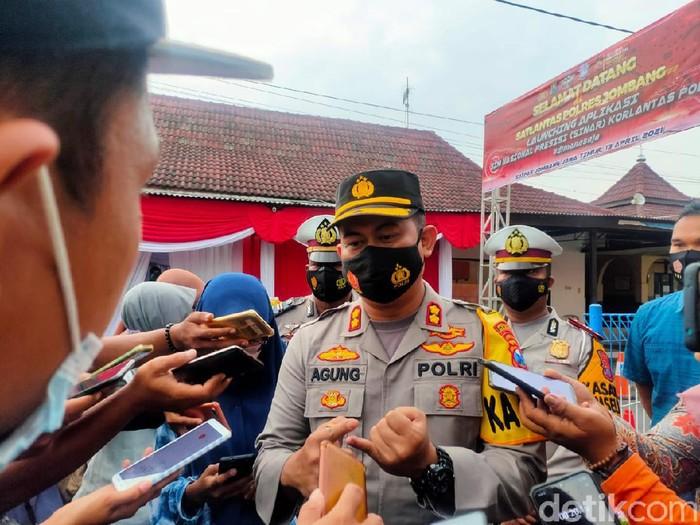 Kapolres Jombang AKBP Agung Setyo Nugroho