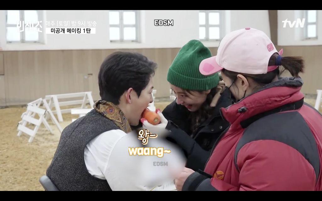 Chemistry Song Joong Ki dan Jeon Yeo Bin