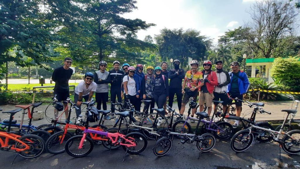 Komunitas TTSG Dukung Pemkot Bogor Bangun Jalur Khusus Sepeda