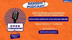 Bikin Podcast Edukasi Bisa Dapatkan Uang Tunai Jutaan Rupiah, Mau?