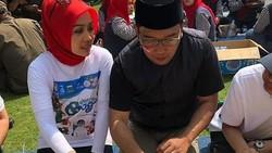 MomenRomantisAtalia PraratyaSaat Liwetan BarengRidwan Kamil