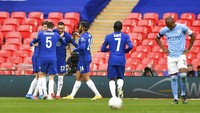 Hasil Semifinal Piala FA: Taklukkan City, Chelsea Melaju ke Final
