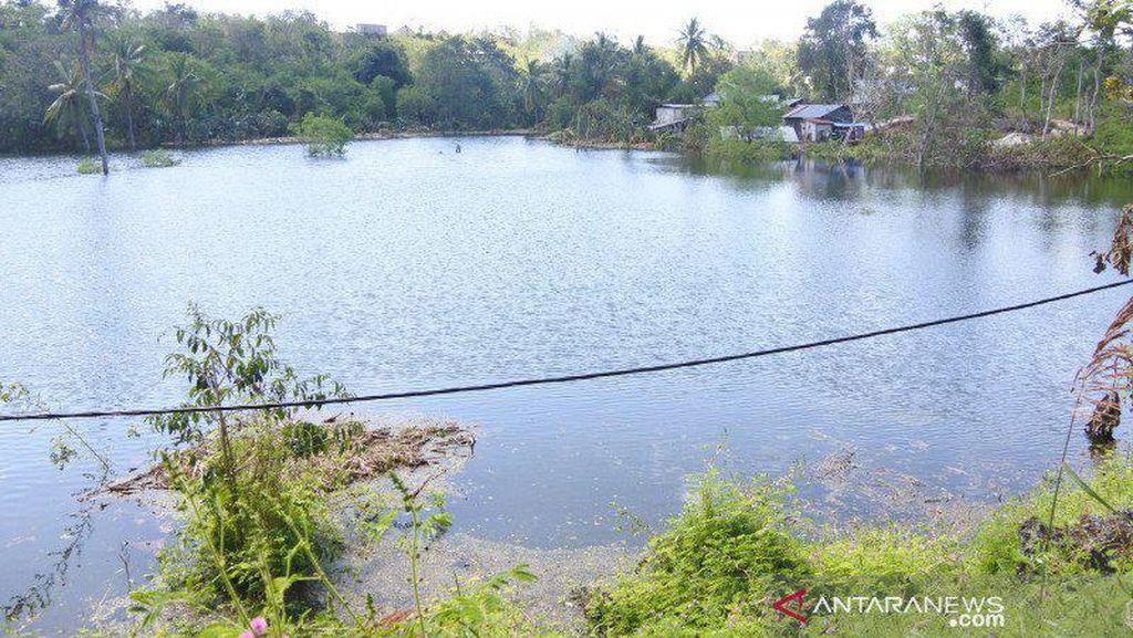 Kemunculan Pulau dan Danau Usai Siklon Seroja di NTT Berlalu