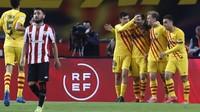 Bilbao Vs Barcelona: Menang 4-0, Lionel Messi dkk Juara Copa del Rey!