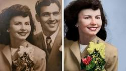Nostalgia Masa lalu Dengan Mewarnai Foto Hitam Putih