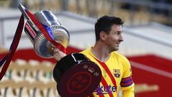 30 Gol di 13 Musim Beruntun, Messi Orang atau Alien?