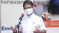Menkes: Mutasi Corona Banyak Ditemukan di Dermaga, Salah Satunya Palembang