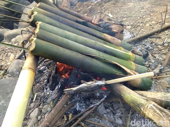 Nasi Leumeung khas Pangandaran untuk Buka Puasa.
