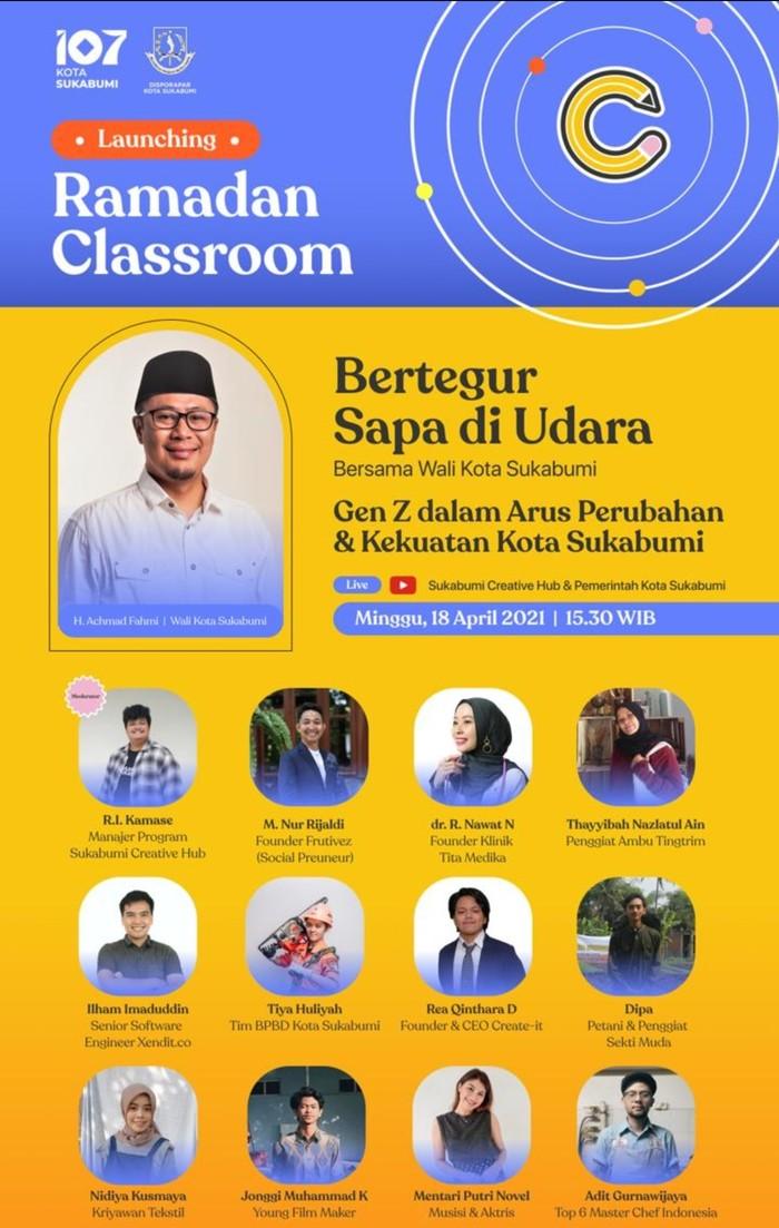 Pemkot Sukabumi menggelar Ramadhan Classroom untuk mengembangkan Ekraf