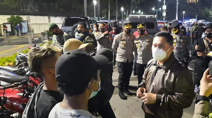 Sejumlah ABG Ikut Terjaring saat Operasi Skala Besar di Jakarta Pusat