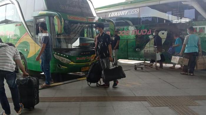 Suasana Terminal Pulogebang/Anisa Indraini