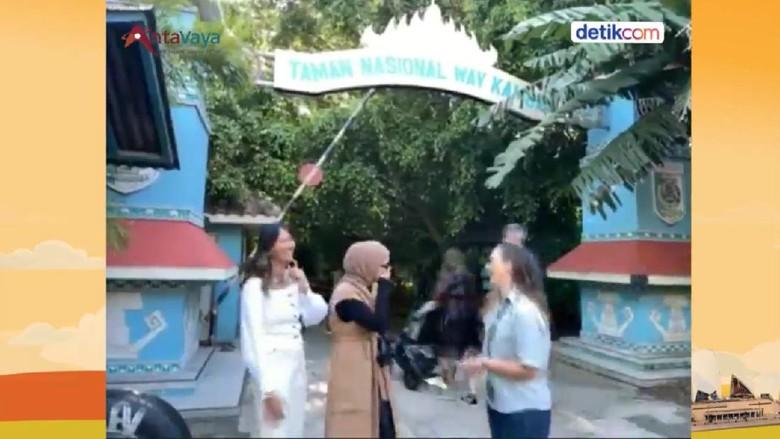 Replika TN Way Kambas di Taronga Zoo