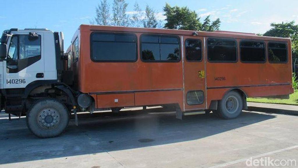 Spesifikasi Bus Antipeluru Freeport buat Antisipasi Serangan KKB