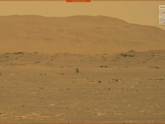 Helikopter Ingenuity milik NASA berhasil terbang di Mars