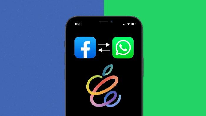 Integrasi WhatsApp dan Facebook messenger