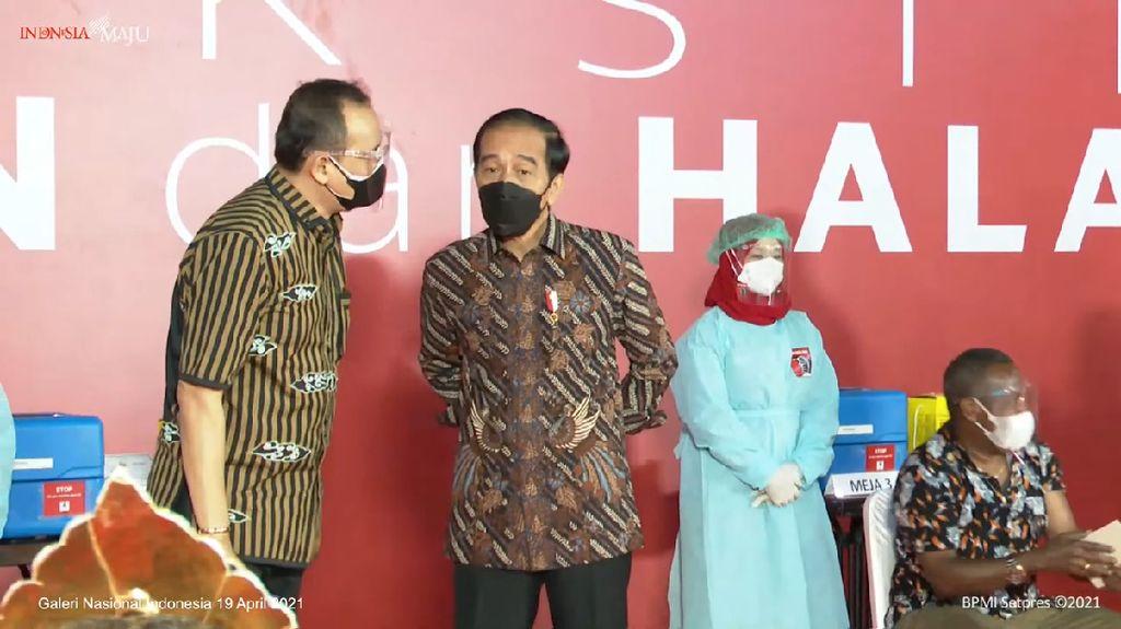 Jokowi: COVID Masih Ada dan Nyata, Tetap Eling lan Waspada