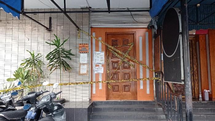 Kafe yang jadi lokasi pengeroyokab Brimob dan Kopassus disegel Pemprov DKI
