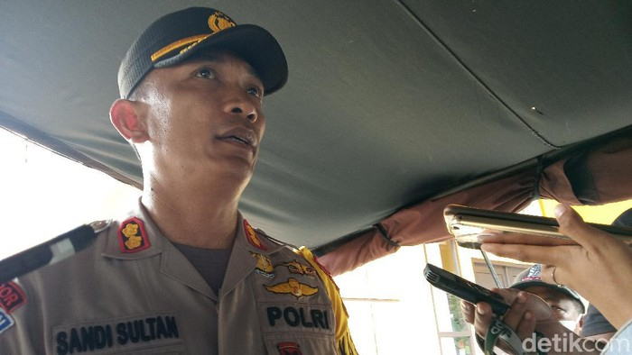 Kapolres Intan Jaya AKBP Sandi Sultan (Saiman/detikcom)