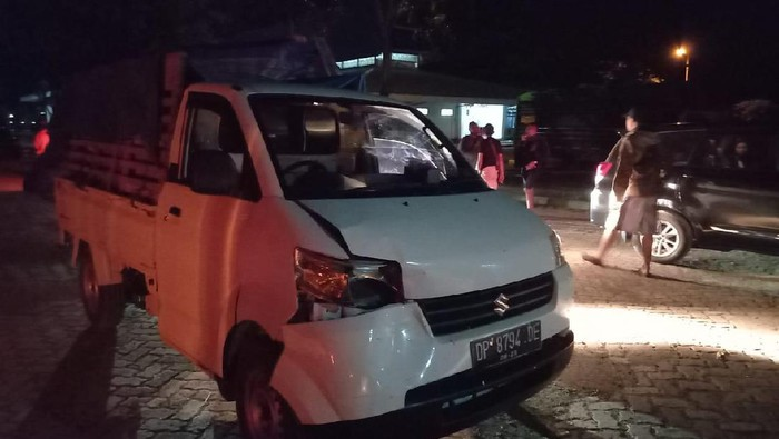 Kendaraan yang dipakai angkut sabu dari Kalimantan ke Sulsel