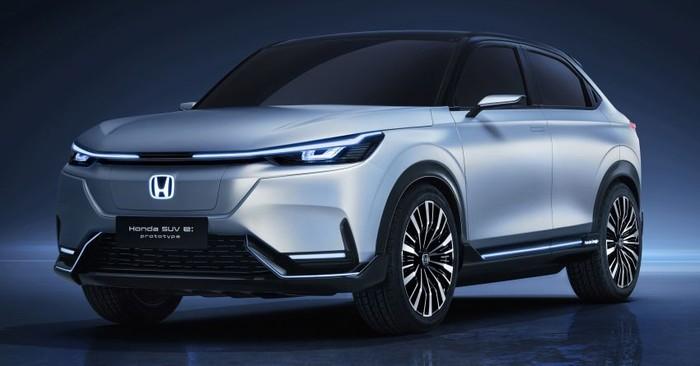 Konsep Mobil Listrik Honda SUV e:concept