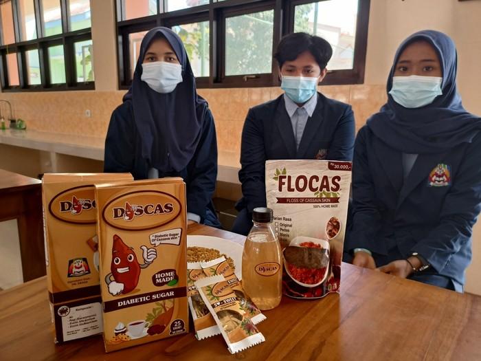 Kudapan Abon dan Gula dari Kulit Singkong Buatan Siswa SMAN 3 Ponorogo
